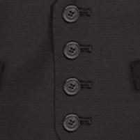 Ben Sherman Black Horseshoe Waistcoat