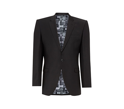 ben sherman black short jacket