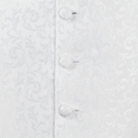 waistcoat ivory scroll