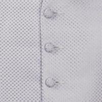 waistcoat lilac pinhead