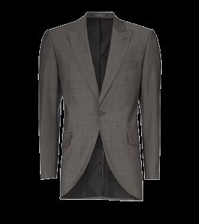 Silk Grey Short Jacket
