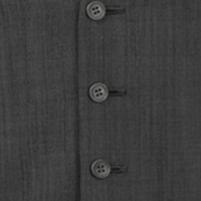 waistcoat silk grey