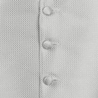 waistcoat silver neat