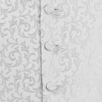 waistcoat silver scroll