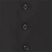 Slim Fit Black Waistcoat