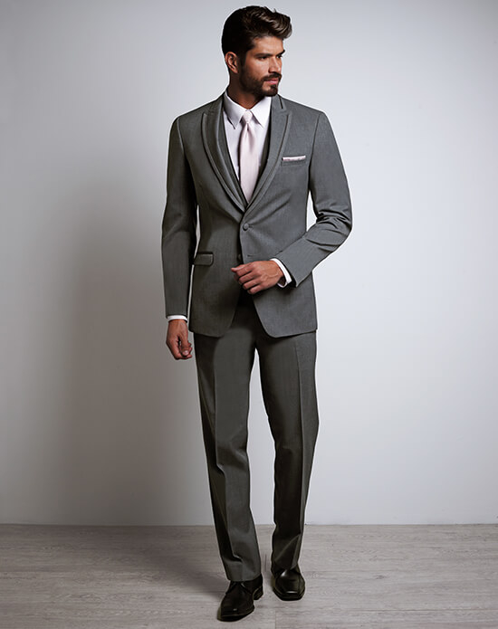 Allure Men Iron Gray Tux | Xedo Tuxedo Rental