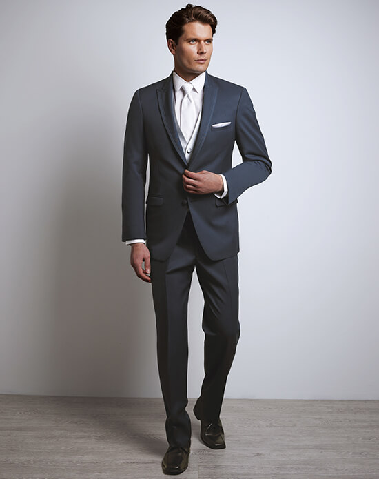 Allure Men Slate Blue Tux | Xedo Tuxedo Rental
