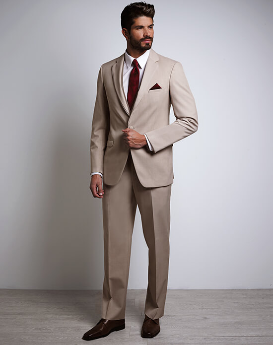Allure Men Tan Tux | Xedo Tuxedo Rental