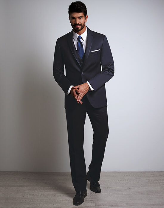 Michael Kors Midnight Blue Tux | Xedo Tuxedo Rental