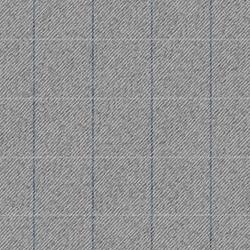 Grey Tweed Check Bow